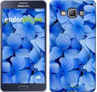 "Чехол на Samsung Galaxy A7 A700H Синие цветы ""526c-117-2448"""