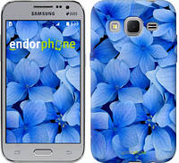 "Чехол на Samsung Galaxy Core Prime VE G361H Синие цветы ""526c-211-2448"""