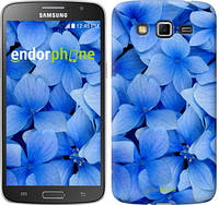 "Чехол на Samsung Galaxy Grand 2 G7102 Синие цветы ""526c-41-2448"""