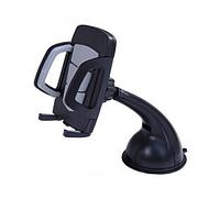 Автодержатель для телефона на лобовое стекло S054A черный