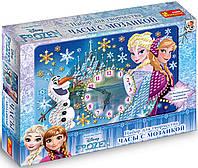 Часы со стрелками «Frozen»