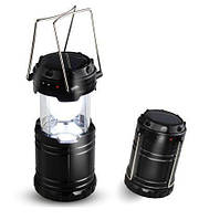 Переносной светодиодный фонарик c солнечной панелью G85