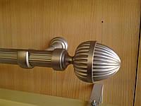 Труба / штанга для карниза 16 мм рифленая 1.8 м