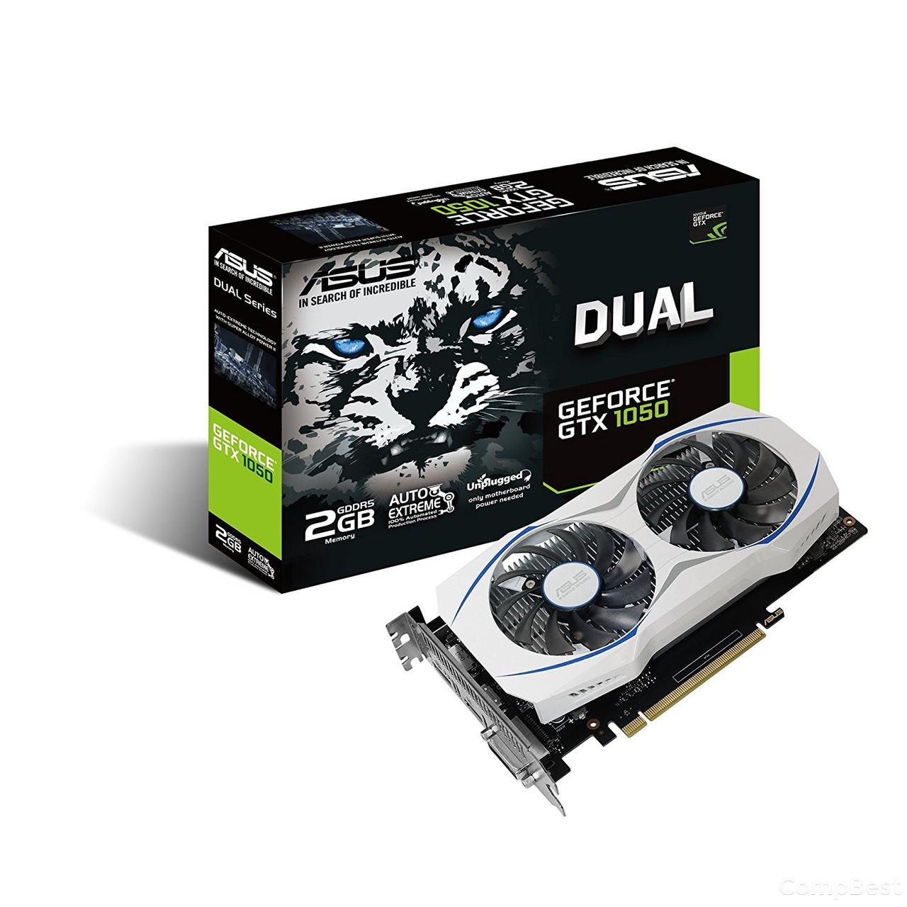 Дискретная видеокарта nVidia GeForce GTX 1050 2GB GDDR5
