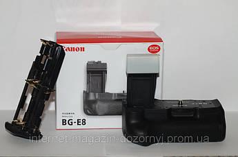 Батарейный блок (бустер) BG-E8 для CANON 550D 600D 650D 700D