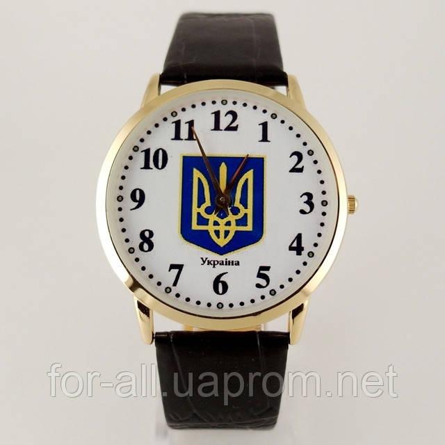 Часы с украинской символикой в интернет-магазине Модная покупка