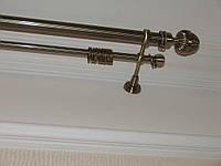 Труба / штанга для карниза 16 мм рифленая 2.2 м