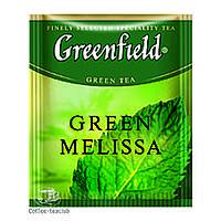 Зеленый Чай Greenfield Green Melissa (100 шт) Мелисса HoReCa