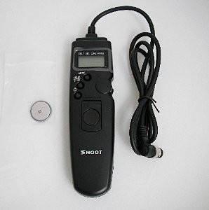 Пульт ДУ SHOOT с таймером и LCD дисплеем MC-30 для NIKON D2, D3, D200, D300, D300S, D700, D800, D810