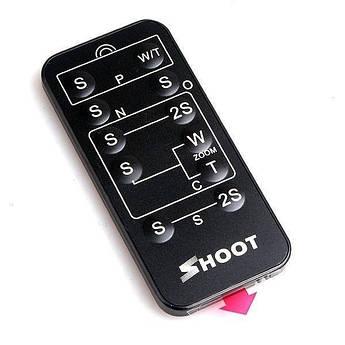 Универсальный инфракрасный пульт ДУ SHOOT для фотоаппаратов CANON, NIKON, SONY, PANASONIC, PENTAX