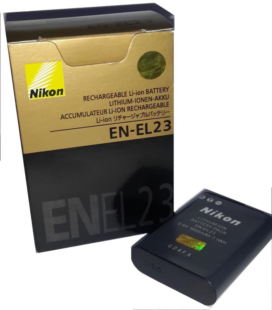 Аккумулятор EN-EL23 для фотоаппаратов Nikon Coolpix P600, S810C, S810, P900, P900s