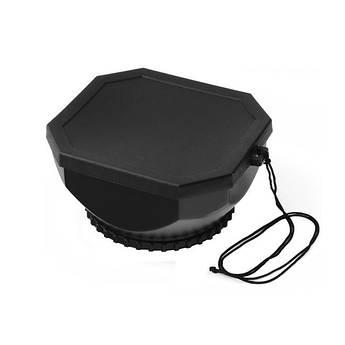 Бленда для видеокамер - прямоугольная для объектива диаметром 37 мм в комплекте с крышкой