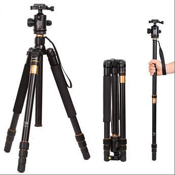 Штатив с моноподом QZSD для фотоаппаратов Q-999