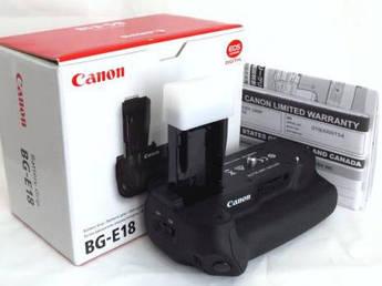 Батарейный блок BG-E18 для CANON 750D, CANON 760D, 800D