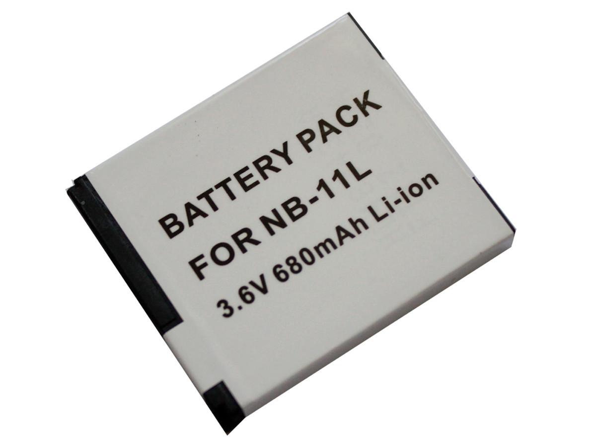 Акумулятор NB-11L для фотоапаратів CANON PowerShot ELPH 110 HS, 320 HS, IXUS 125 HS, 240 HS - аналог