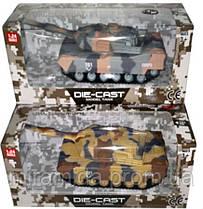 Игрушечный металлический танк 677-8