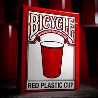 Карты игральные | Bicycle Red Plastic Cup