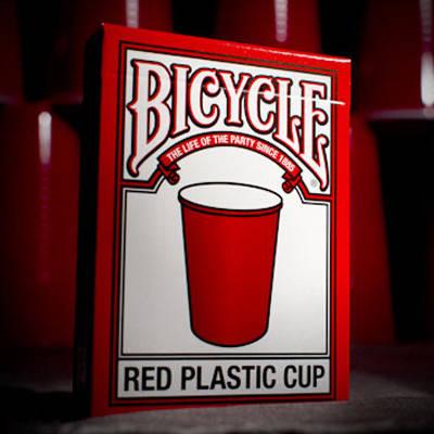Карты игральные | Bicycle Red Plastic Cup, фото 2