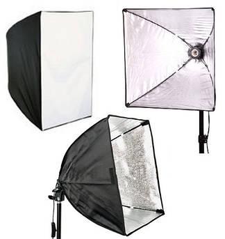 Софтбокс (рассеиватель, диффузор) для постоянного флуоресцентного света 50×50 см