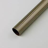 Труба / штанга для карниза 16 мм рифленая 3 м, фото 1