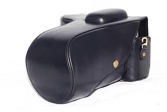 Защитный футляр - чехол для фотоаппаратов NIKON D7000, D7100, D7200 - черный