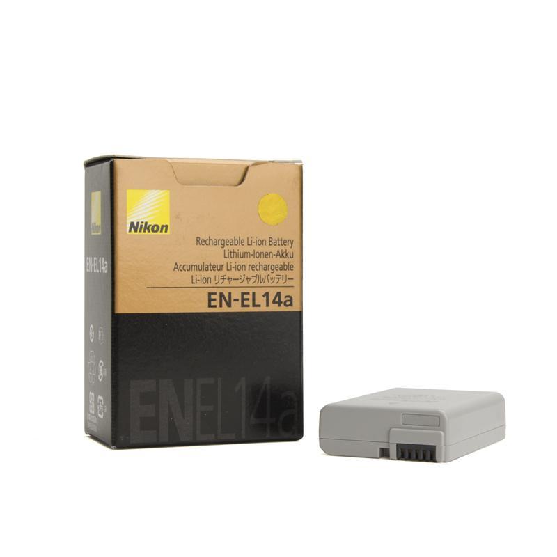 Аккумулятор EN-EL14a для фотоаппаратов NIKON D3100, D3200, D3300, D5100, D5200, D5300, D5500