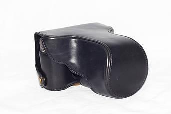 Защитный футляр - чехол для фотоаппаратов FujiFilm X-E2, X-E1 - черный