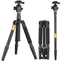 Штатив фирмы + монопод QZSD для фотоаппаратов - Q-666 (Q666) + головка QZSD-02