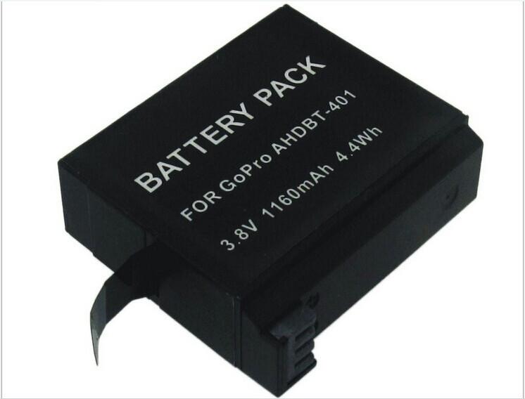 Аккумулятор AHDBT-401 для GoPro Hero 4 - аналог на 1160 ma