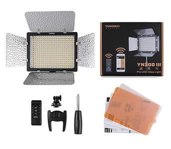LED - осветитель, видеосвет - Yongnuo YN-300 III (YN300 III)