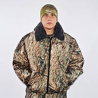 Куртка для охоты и рыбалки утепленная - Камыш