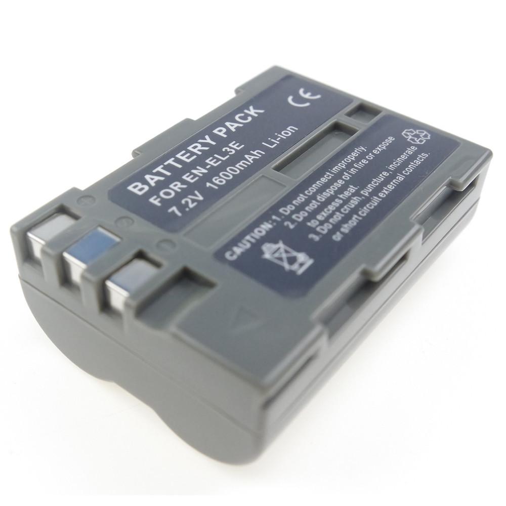 Акумулятор для фотоапаратів NIKON D50, D70, D80, D90, D100, D200, D300, D700 - EN-EL3e (аналог) - 1600 ma