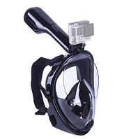 Маска SHOOT для подводного плавания (сноркелинга) с креплением для экшн камер XIAOMI SJCAM GOPRO код № XTGP280