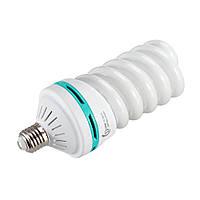 Флуоресцентная лампа Fotobestway 150 Вт, E27, 5500 K  - лампа для студийного света