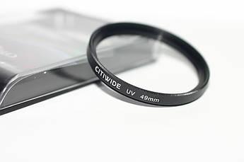 Ультрафиолетовый защитный UV cветофильтр CITIWIDE 49 мм