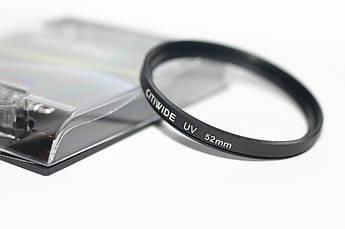 Ультрафиолетовый защитный UV cветофильтр CITIWIDE 52 мм