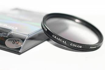 Градиентный светофильтр CITIWIDE 58 мм - серый (grey)