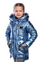 Куртки для девочек, блестящие, в ассортименте Кошечка