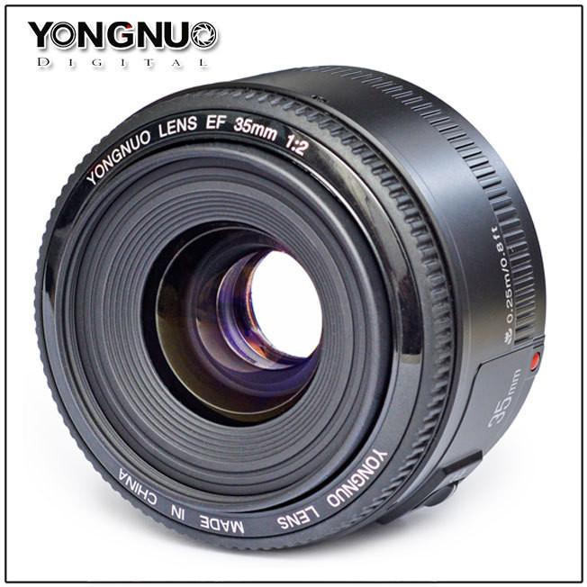 Об'єктив YONGNUO YN35MM 35 mm F/2.0 для Canon