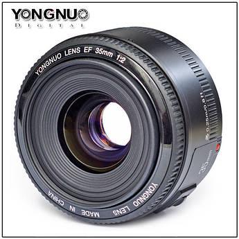 Объектив YONGNUO YN35MM 35 mm F/2.0 для Canon