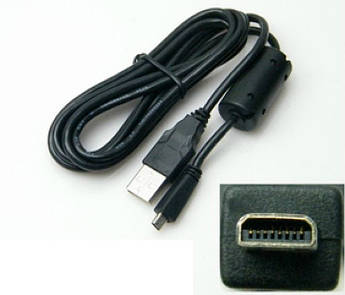 Кабель (шнур) Pentax I-USB7 (аналог I-USB17, I-USB33, UC-E6) для камер PENTAX