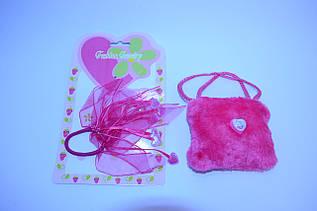 Детский набор для девочек ( Сумочка с резинкой)(В упаковке 12 шт)