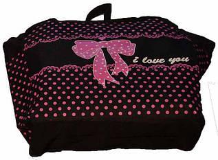 Детская сумка для девочки с ручками 4 Цвета  (Размер: 27х37х10)