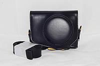 Защитный футляр - чехол для фотоаппаратов CANON G7X, G7X Mark II - черный