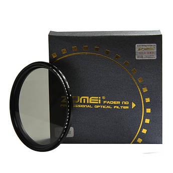 Нейтрально-серый светофильтр ZOMEI с переменной плотностью 52 мм ND2 - ND400
