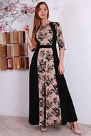 Красивое платье в расцветке, фото 1