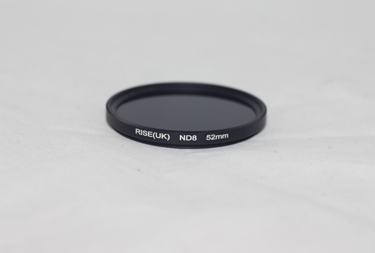Нейтрально-сірий світлофільтр RISE (UK) 52 мм ND8