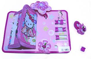 Детский набор для девочек (кошелек и заколки)(В упаковке 12 шт )