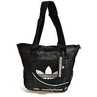 Сумка спортивная на плечо Adidas Цвет Белый (Размер 36х32х9 см)