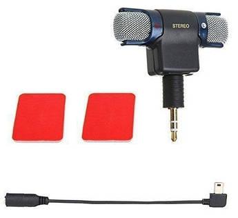 Стерео микрофон mini USB для GoPro с комплектом креплений (код XTGP313)